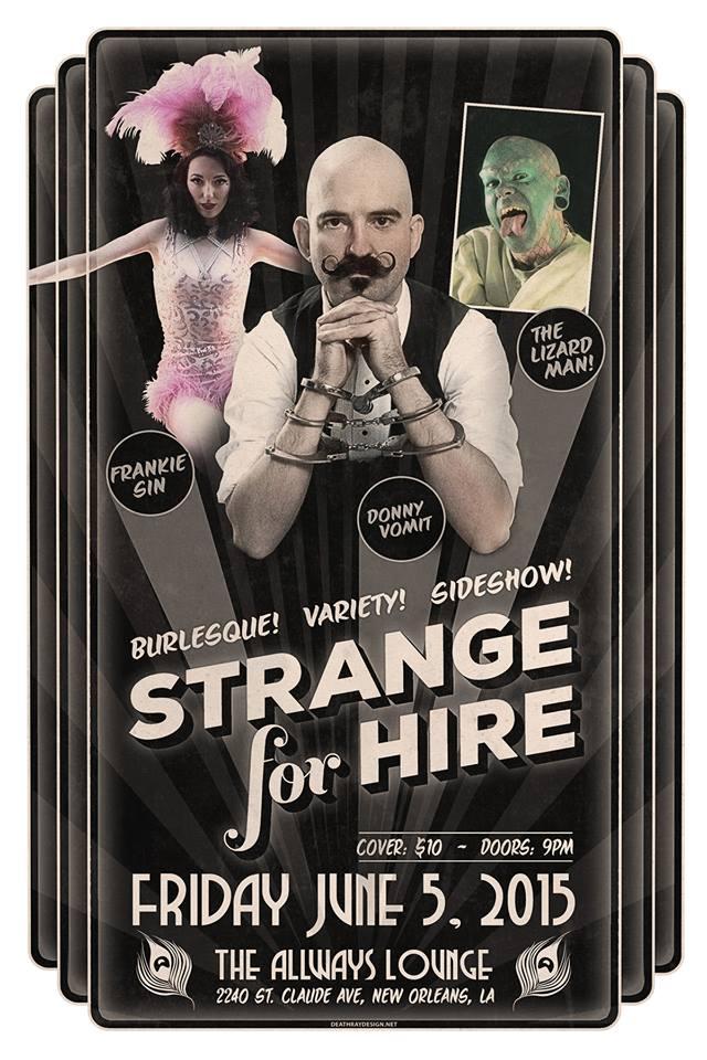 strange for hire